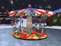 christmas carousel second marketplace rudolph the nosed reindeer s