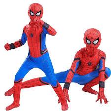 kids costume s new style spider homecoming kids costume