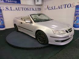 used saab 9 3 silver for sale motors co uk