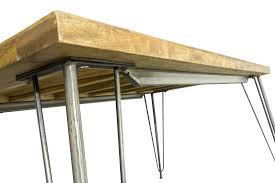 Retro Dining Table Aston Industrial Retro Dining Table Todaystrends