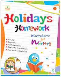 smart holidays homework nursery bookman india