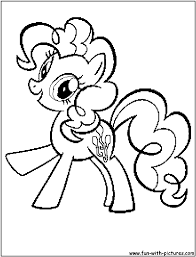 my little pony pinkie pie coloring get coloring pages