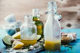 make your own olive oil lemon juice salad dressing