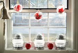Window Decorations For Christmas by Step In For Some Christmas Cheer Slipcovered Grey