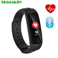 heart rate bracelet iphone images Cd02 ip67 waterproof color screen bluetooth smart band bracelet jpg