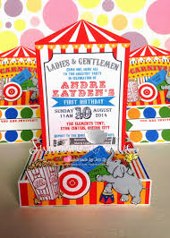 circus invitation free printable invitation design