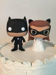 custom funko pop batman and catwoman wedding cake toppers 2583184