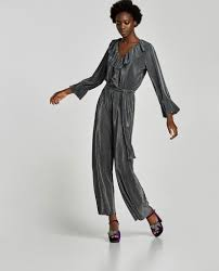zara jumpsuit zara pleated jumpsuit jumpsuits for