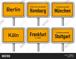 city limits signs six major cities vector u0026 photo bigstock