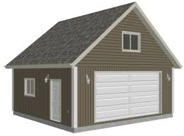 g514 24 x 24 x 9 loft garage plans in pdf and dwg house