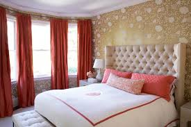 Wallpaper Master Bedroom Ideas Wallpaper Master Bedroom Gold And Coral Bedroom Coral Painted