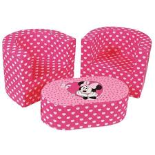 canap minnie disney minnie set combo 1 table et 2 fauteuils et