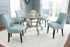gray round dining table set decorate with grey round dining table table design