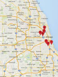Chicago Blue Line Map Chicago Crime Map A Memorial Day Massacre