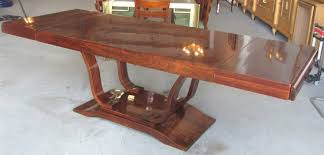Mahogany Dining Table French Art Deco Mahogany Dining Table Modernism Gallery