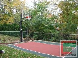 backyard basketball court flooring backyard basketball court dallas backyard basketball courts sport