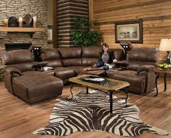 living room stunning oversized leather sectional sofa with