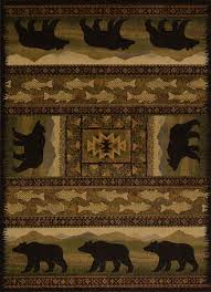 Fishing Rugs Rustic Cabin Rugs And Lodge Style Rugs The Cabin Shack U2013 Page 2