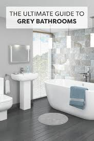 Grey And White Bathroom Tile Ideas Best 25 Grey Bathroom Tiles Ideas On Pinterest Grey Large Within