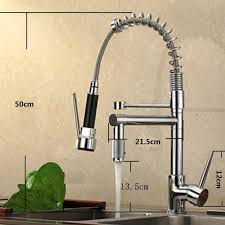 Industrial Kitchen Sink Faucet Vdomus Single Handle Pullout Spray Kitchen Faucet With Spout