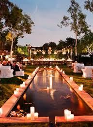 Ideas For Backyard Weddings by Best 25 Backyard Wedding Pool Ideas Only On Pinterest Floating