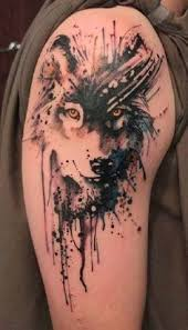 not normally a fan of colored tats but i m obsessed with this