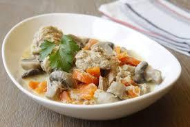 cuisiner la blanquette de veau blanquette de veau thermomix