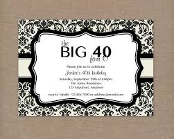 40th birthday invitation ideas 40th birthday invitation ideas to