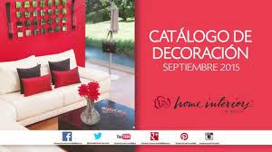 Nuevo Catálogo De Decoración Septiembre  De Home Interiors De - Home interiors catalogo