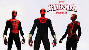 spiderman pack ii superior u0026 ultimate spiderman gta5 mods