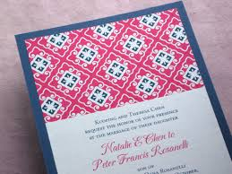 asian wedding invitations real palettes natalie s modern and bold asian wedding invitations