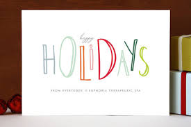 happy go lucky holidays business cards by up up creative
