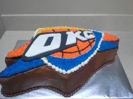 okc thunder grooms cake wedding cakes pinterest thunder