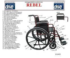 Drive Wheel Chair Drive Medical Rebel Wheelchair Single Axle