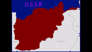 Realistic Map Of The World by Soviet U2013afghan War 1979 1989 Map Not Realistic Video Youtube