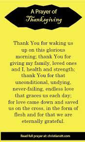 the ultimate uplifting prayer of thanksgiving thankful