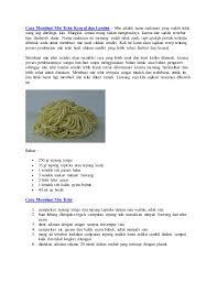 cara membuat mie yang kenyal cara membuat mie telur kenyal dan lembut