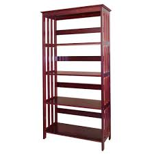 home decorators collection cherry open bookcase r5417 ch the