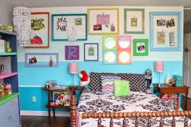 Teen Bedroom Makeover - teen room reveal come see my fun and colorful room on a budget