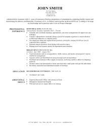 Resume Samples Of Administrative Assistant by Expert Preferred Resume Templates Resume Genius