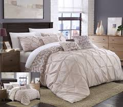 bed in a bag california king comforter sets 7 piece annasy sage