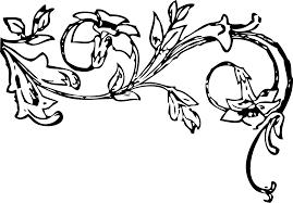 clipart floral decoration