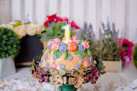 lexi u0027s flower garden cake smash kseniap photography