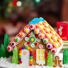 snowy gingerbread house idea treats to make the season