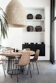 Best  Rattan Dining Chairs Ideas On Pinterest House Doctor - Stylish dining table with wicker chairs house