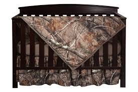 realtree ap camo three piece crib set from crookedwood