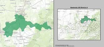 kentucky house map kentucky s 4th congressional district