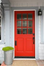 sherwin williams positive red perfect front door color paint