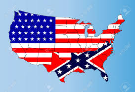 Confederate States Map by An Outline Map Of Theunited States Of America Showing The