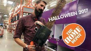 the home depot halloween 2017 merchandise youtube